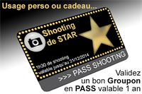 Picture of Carte Cadeau Shooting de star simple