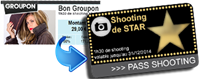 Image de 2 – Transformer un Bon Groupon en Pass Shooting de STAR